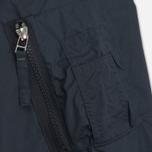 Мужская куртка бомбер Universal Works UW/MA1 Olmetex Tech Cotton Navy фото- 5