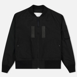 Мужская куртка бомбер White Mountaineering Cordura MA-1 Black фото- 0