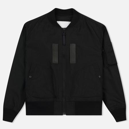 Мужская куртка бомбер White Mountaineering Cordura MA-1 Black