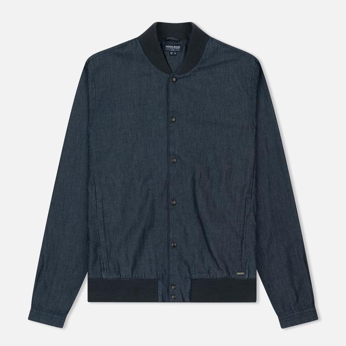 Мужская куртка бомбер Woolrich Denim Dark Chambray
