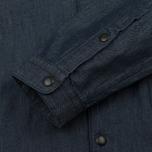 Мужская куртка бомбер Woolrich Denim Dark Chambray фото- 4