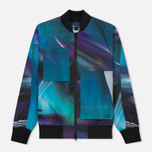 Мужская куртка бомбер Y-3 All Over Print Purple фото- 0