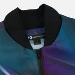 Мужская куртка бомбер Y-3 All Over Print Purple фото- 2