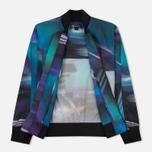 Мужская куртка бомбер Y-3 All Over Print Purple фото- 1