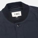 Мужская куртка бомбер YMC Button Black фото- 2