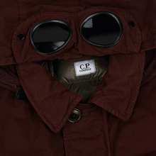 Мужская куртка C.P. Company 50 Fili Goggle Down Bitter Chocolate фото- 1