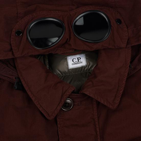 Мужская куртка C.P. Company 50 Fili Goggle Down Bitter Chocolate