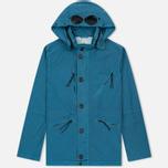 Мужская куртка C.P. Company Chrome Goggle Turquoise фото- 0