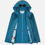 Мужская куртка C.P. Company Chrome Goggle Turquoise фото- 1