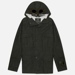 Мужская куртка C.P. Company Millie Miglia Plated Linen Forest Night