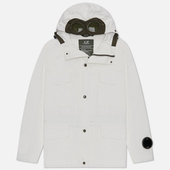 Мужская куртка C.P. Company Millie Miglia Plated Linen Gauze White