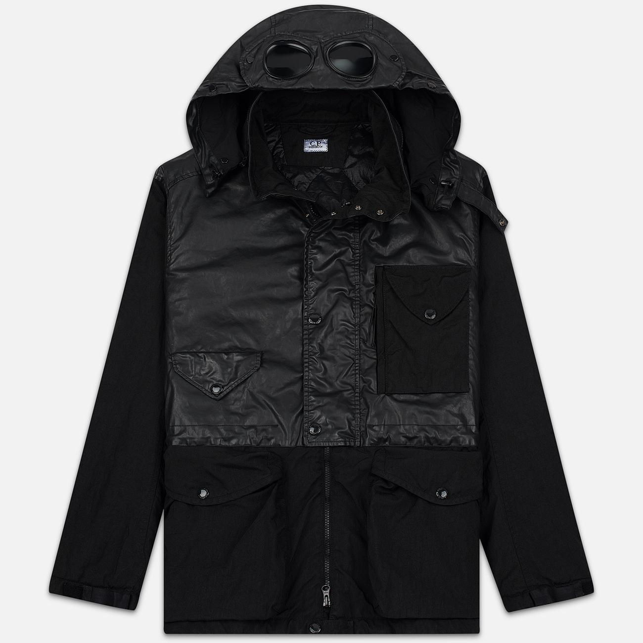 Мужская куртка C.P. Company Quartz Contrast Goggle Black