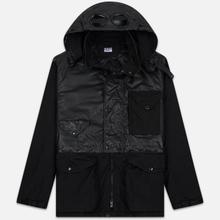 Мужская куртка C.P. Company Quartz Contrast Goggle Black фото- 0