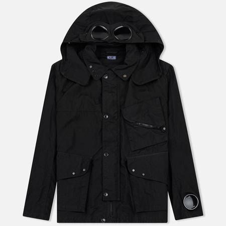Мужская куртка C.P. Company Quartz Goggle Black