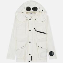 Мужская куртка C.P. Company Quartz Goggle Gauze White фото- 0