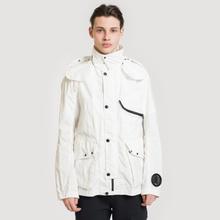 Мужская куртка C.P. Company Quartz Goggle Gauze White фото- 1