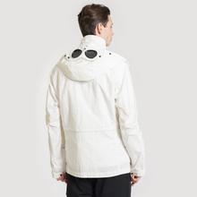 Мужская куртка C.P. Company Quartz Goggle Gauze White фото- 4
