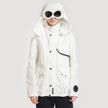 Мужская куртка C.P. Company Quartz Goggle Gauze White фото- 2