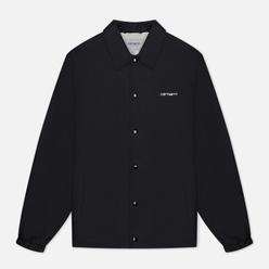 Мужская куртка Carhartt WIP Carhartt Script Coach 2.4 Oz Black/Wax