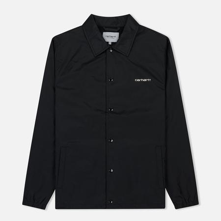 Мужская куртка Carhartt WIP Carhartt Script Coach Black/Wax