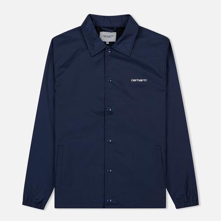 Мужская куртка Carhartt WIP Carhartt Script Coach Blue/Wax