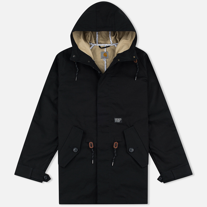 Мужская куртка Carhartt WIP Carter Fishtail Black/Safari