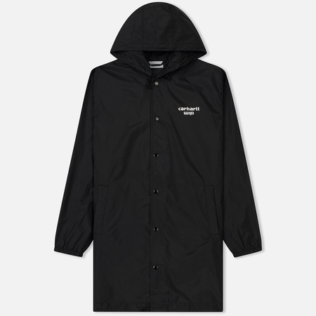 Мужская куртка Carhartt WIP Hooded Astra Coach Black/White