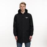 Мужская куртка Carhartt WIP Hooded Astra Coach Black/White фото- 6
