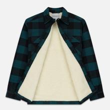 Мужская куртка Carhartt WIP Merton Check Dark Fir фото- 2