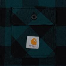 Мужская куртка Carhartt WIP Merton Check Dark Fir фото- 1