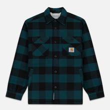 Мужская куртка Carhartt WIP Merton Check Dark Fir фото- 0