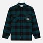 Мужская куртка Carhartt WIP Merton Check Dark Fir фото - 0