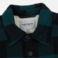Мужская куртка Carhartt WIP Merton Check Dark Fir фото - 4
