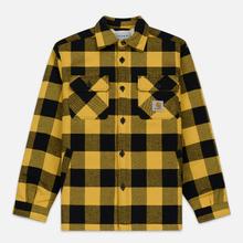 Мужская куртка Carhartt WIP Merton Check Merton/Colza фото- 0