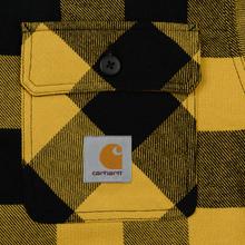 Мужская куртка Carhartt WIP Merton Check Merton/Colza фото- 1