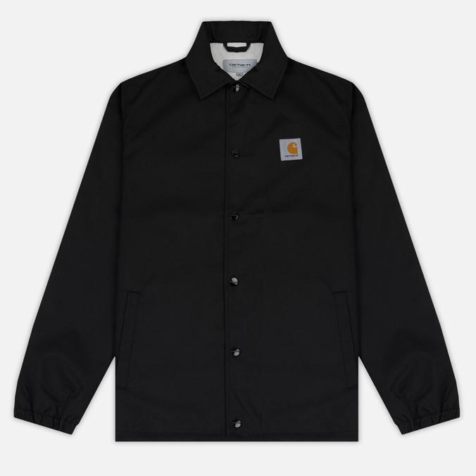 Мужская куртка Carhartt WIP Watch Coach 6.3 Oz Black/Broken White