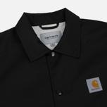 Мужская куртка Carhartt WIP Watch Coach 6.3 Oz Black/Broken White фото- 1