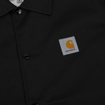 Мужская куртка Carhartt WIP Watch Coach 6.3 Oz Black/Broken White фото- 2