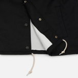 Мужская куртка Carhartt WIP Watch Coach 6.3 Oz Black/Broken White фото- 6