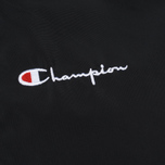 Мужская куртка Champion Reverse Weave Script Logo Satin Coach Black фото- 3