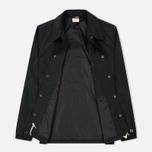 Мужская куртка Champion Reverse Weave Script Logo Satin Coach Black фото- 1
