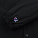 Мужская куртка Champion Reverse Weave Script Logo Satin Coach Black фото- 5