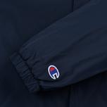 Мужская куртка Champion Reverse Weave Script Logo Satin Coach Navy фото- 5