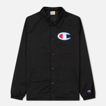 Мужская куртка Champion Reverse Weave Vintage Coach Black фото- 0