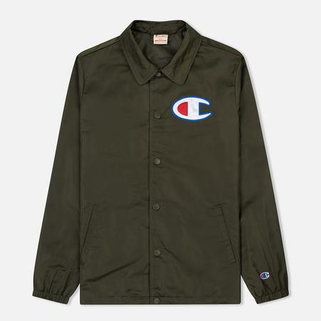Мужская куртка Champion Reverse Weave Vintage Coach Dark Green