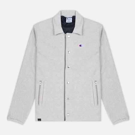 Champion Reverse Weave x Beams Coach Men's jacket Grey Marl