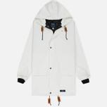 Мужская куртка дождевик Bleu De Paname Parka Guerande White фото- 0