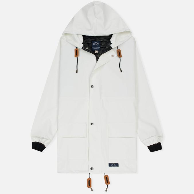 Мужская куртка дождевик Bleu De Paname Parka Guerande White