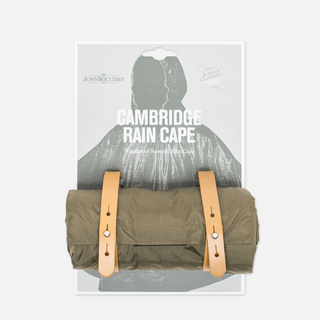 Brooks England Cambridge Raincape Jacket Olive