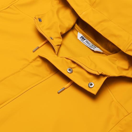 Мужская куртка дождевик Helly Hansen Moss Rain Essential Yellow